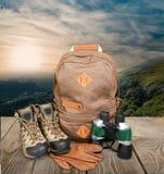 hiking Стоковое Фото