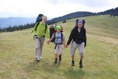 Hiking Royalty Free Stock Photo