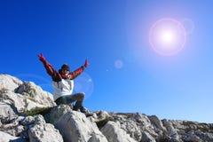 Hiking Stock Photography