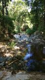 hiking стоковое изображение