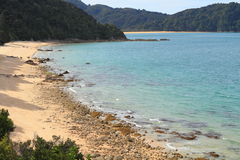 Hiking in Abel Tasman National Park Royalty Free Stock Image