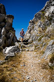 Hiking in Adriatic Royalty Free Stock Images