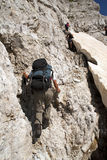 Hiking at Albanian Alps Royalty Free Stock Photo