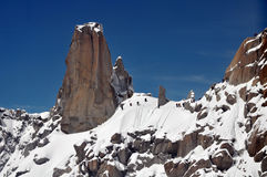 hiking alps Стоковая Фотография