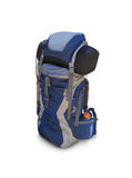 Hiking backpack  on white Stock Photo