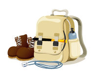 Hiking bag Royalty Free Stock Photography