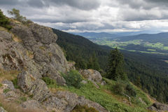 Hiking in Bavaria Stock Photography