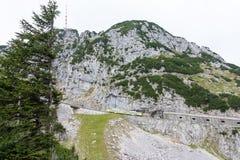 Hiking in Bavaria Stock Image
