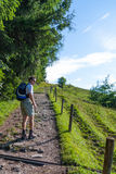 Hiking in Bavaria Stock Photos