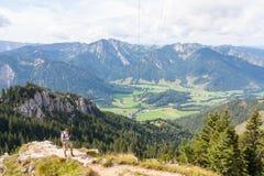 Hiking in Bavaria Royalty Free Stock Image
