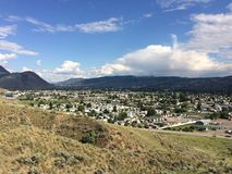 Hiking in the beautiful Kamloops wilderness Stock Photos