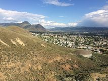 Hiking in the beautiful Kamloops wilderness Stock Images