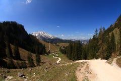 Hiking in Berchtesgaden Stock Photos