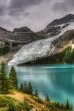 Hiking Berg Lake Trail Royalty Free Stock Photography