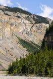 Hiking Berg Lake Trail Royalty Free Stock Photo