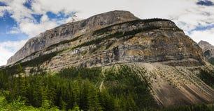 Hiking Berg Lake Trail Stock Image