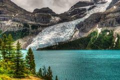 Hiking Berg Lake Trail Stock Photos