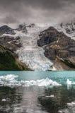 Hiking Berg Lake Trail Royalty Free Stock Images
