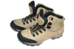Hiking boot Royalty Free Stock Photo