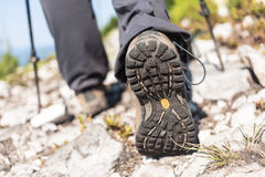 Hiking boot Stock Image