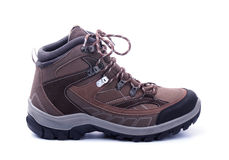 Hiking boot isolated Royalty Free Stock Photography