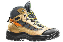 Hiking boot Royalty Free Stock Images