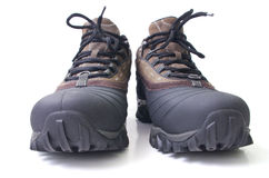 Hiking boots. Royalty Free Stock Photography