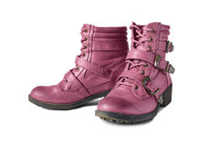 Pink Hiking Boots Royalty Free Stock Images - Image: 16927589