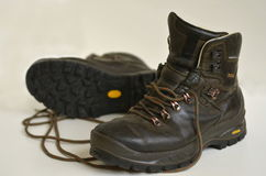 Hiking boots Royalty Free Stock Photography