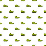 Hiking boots pattern seamless. In flat style for any design Royalty Free Stock Photos