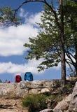 Hiking break Royalty Free Stock Photography