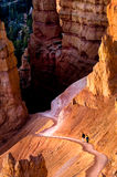 Hiking Bryce Canyon Stock Photo