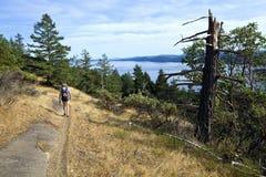 Hiking Canada Royalty Free Stock Photo