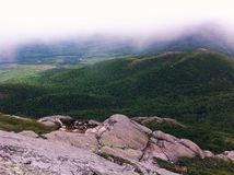 Hiking at Charlevois Royalty Free Stock Images