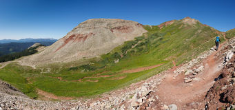Hiking the Colorado Trail Stock Images