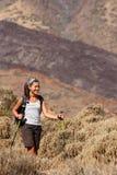 hiking copyspace Стоковые Изображения RF