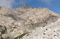 Hiking at Corsica Stock Photo