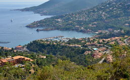 Hiking at Cote d'Azur in France Royalty Free Stock Photos