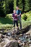 Hiking couple Royalty Free Stock Photography