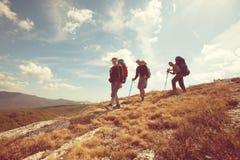 Hiking in Crimea Stock Photos