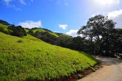 Hiking on the Cuesta Grade Stock Photo