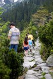 Hiking with Dad Royalty Free Stock Photo
