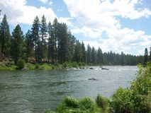 Hiking Deschutes River Trail Stock Images