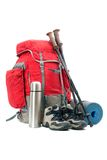 Hiking equipment Stock Photo