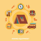Hiking Equipment For Tourists Stock Photography