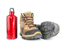 Hiking equipment Stock Photos