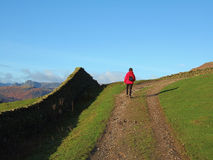 Hiking the Fairfield Horseshoe Stock Image