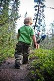 Hiking family stock photos