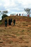 Hiking - Fraser Island Stock Photo