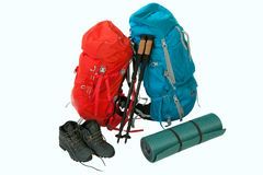 Hiking gear Stock Photography